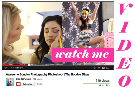 boudoir you tube video