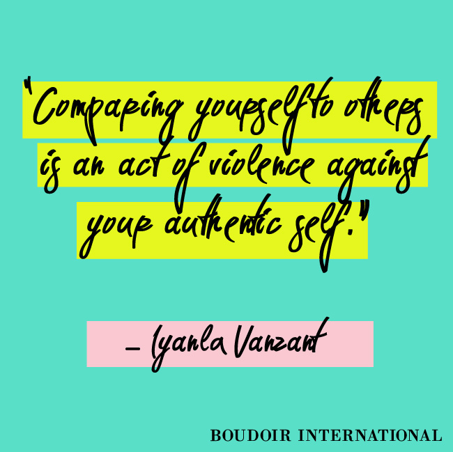 iyala quote comparing yourself to others A great reminder to us all.....